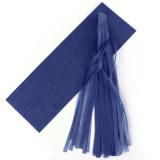 Price Comparisons For 5 Pcs Tissue Garlands Bunting Ballroom Paper Tassels Decor Deep Blue