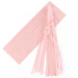 5 Pcs Tissue Garlands Bunting Ballroom Paper Tassels Decor Light Pink Price Comparison