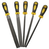 For Sale 5 Piece Engineer File Set 5Pc 8 200Mm Soft Grip Assorted Metal Intl