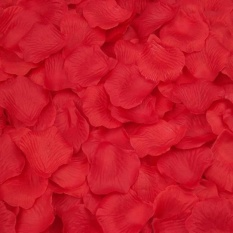 5000PC Silk Artificial Flower Rose Petals Wedding Party Decorations - intl