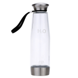 Review 500Ml Intelligent Portable Hydrogen Rich Water Maker Ionizer Generator Anti Aging Water Bottle Colorful Light On Hong Kong Sar China