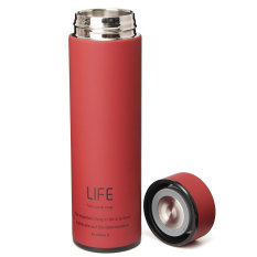 Buy 500Ml Stainless Steel Tea Water Coffee Flask Vacuum Bottle Thermoses Travel Cup Red Intl Cheap On China