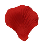 Retail Price 500Pcs Simulation Silk Rose Petals For Wedding Decor Party Bright Red New
