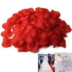 500pcs Simulation Silk Rose Petals For Wedding Decor Party Bright Red New By Crystalawaking.