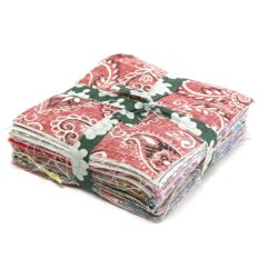 Sale 500X 10X10Cm Square Floral Cotton Fabric Patchwork Cloth For Diy Craft Sewing Intl Online China