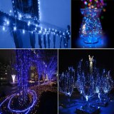 Buy 50M 165Ft 500Leds Silver Wire Warm White Led String Lights Starry Lights Xmas Wedding Fairy Lights Ce Tuv Certified Uk Adapter Intl China