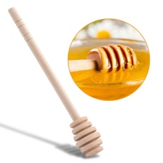 Sale 50Pcs Set Household Wooden Jam Honey Dipper Jar Dispensing Collecting Stirring Rod Stick 8Cm Intl Online On Singapore