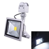 Buying 50W 1 Led 5000 5500Lm Ip65 Waterproof Backpack Style Led Pir Motion Sensor Outdoor Floodlight Lamp Ac 110 260V White Light Intl
