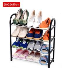 Sale 50X20X57Cm Portable Shoe Rack Stand Shelf Home Storage Organizer Closet Cabinet Black Intl Oem Original
