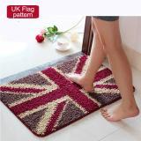 Best Rated 50X80Cm Pattern Printed Bathroom Carpets Doormats Anti Slip Polyester Floor Mat Pad For Living Room Bath Kitchen Uk Pattern Intl