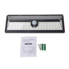 54 LED Solar Light Motion Sensor Flood Spot Lamp Garden Outdoor Waterproof - intl