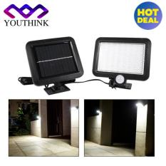 Review 56 Led Solar Powered Motion Sensor Outdoor Wall Mounted Garden Lamp Intl Oem
