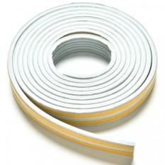 Vegoo 5M E/D/I-type Foam Draught Self Adhesive Window Door Excluder Rubber Seal Strip (Grey E) - intl
