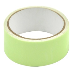 5M Long Glow Fluorescent Luminous Tapes Sticker Self-adhesive Warning Stripes Glow in The Dark Emergency Night Safety Tape Green - intl