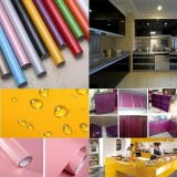 5M Modern Kitchen Cupboard Cabinet Self Adhesive Wallpaper Waterproof Vinyl Wall Papers Furniture Wall Stickers Pvc Diy Decorative Films Intl Promo Code