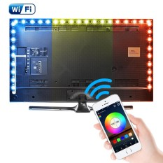 Shop For 5M Wifi Usb Rgb Color Smart App Control Led Strip Tv Background Light Ld1140 Intl