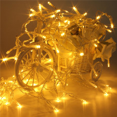 Buy 5Pcs 10M Battery Powered Operated Led Fairy String Light Lamp Christmas Halloween Warm White Intl Oem Original
