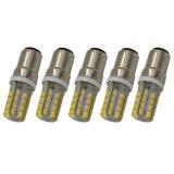 Latest 5Pcs B15 1157 Ac 220V 3 5W 240Lm Smd 2835 32 Led Bulb Light Lamp Warm White Export Intl