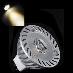 5Pcs Mr16 3W 12V Warm White 3000K Led Spotlight Lamp Bulb Energy Saving Bright Intl For Sale