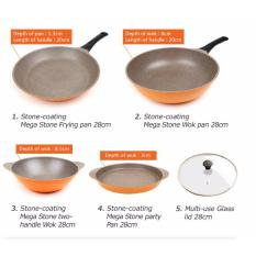 Who Sells Blmg 5Pcs Set Kitchen Art Stone Coated Frying Pan