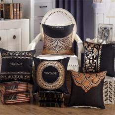 Price 5Pcs 1Set Home Fashion Premium Cotton Linen Square Throw Pillow Case Decorative Cushion Cover Pillowcase For Sofa 18 X 18 Intl Oem