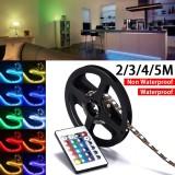 5V 5050 180Smd 3M Rgb Led Strip Light Bar Tv Back Lighting Kit Usb Remote Control Intl Deal