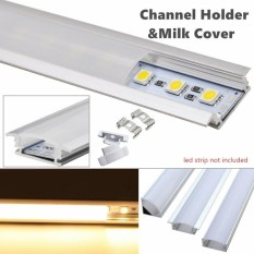 Buy Cheap 5X50Cm U Style Aluminium Channel Holder For Led Strip Light Bar Under Cabinet Lamp Type U Intl