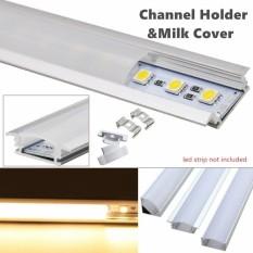 Buy 5X50Cm U Style Aluminium Channel Holder For Led Strip Light Bar Under Cabinet Lamp Type Yw Intl Online Singapore