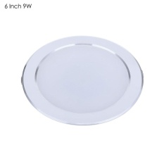 Discount 6 Inch 9W Round Led Downlight Anti Fog Ceiling Lamp Silver Intl Oem Singapore