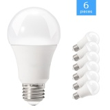 Cheaper 6 Packed A19 E26 E27 Led Bulb 60 Watt Incandescent Bulb Equivalent 11W 3000K Non Dimmable Warm White Bulb Light Intl