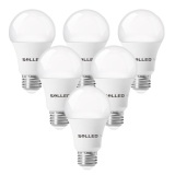 Who Sells 6 Packed A19 Led Light Bulb E26 27Socket 11W 60 Watt Incandescent Bulb Equivalent 5000K Daylight White 1000Lm Led Lamp 240°Flood Beam Non Dimmable Intl Cheap