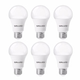 6 Packed A19 Led Light Bulb E26 27Socket 11W 60 Watt Incandescent Bulb Equivalent 5000K Daylight White 1000Lm Led Lamp 240°Flood Beam Non Dimmable 6Pcs Coromose Intl Best Buy