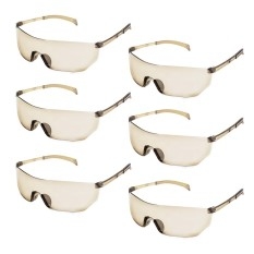 6 Pcs Kids Children Outdoor Game Protective Goggles Safety Glasses Eyewear For Nerf N-Strike Elite Shooting Game Eye Protection - Intl By Stoneky.