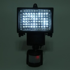 60 Led Motion Sensor Solar Powered Outdoor Garden Security Flood Light Spotlamp Intl Deal