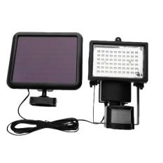 60 LED PIR Motion Sensor Solar Powered Garden Security Flood Stair Light - intl