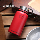 Who Sells The Cheapest 600 Ml 1000Ml Men Women S Large Capacity Stainless Steel Vacuum Mug Online