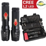 6000Lm Genuine Shadowhawk X800 Tactical Flashlight L2 Led Military Torch Kit Black Intl Review