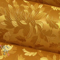 60cm*2.5m Luxury 3D Self-adhesive Wallpaper Roll Home Decals For TV Sofa Backdrop (Gold) - intl