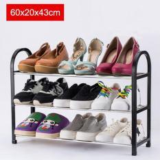 60X20X43Cm Portable Shoe Rack Stand Shelf Home Storage Organizer Closet Cabinet Black Intl China