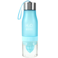 Compare 650Ml Sports Lemon Juice Infusing Water Bottle Blue Export Intl