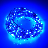 Who Sells 66Ft Battery Led String Light 20M 200Led 6Pcsaa Battery Operate Led Light Outdoor Decoration Light Home With 5 Modes Blue