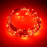 Wholesale 66Ft Battery Led String Light 20M 200Led 6Pcsaa Battery Operate Led Light Outdoor Decoration Light Home With 5 Modes Red