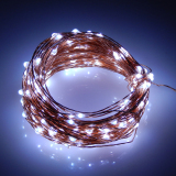 New 66Ft Battery Led String Light 20M 200Led 6Pcsaa Battery Operate Led Light Outdoor Decoration Light Home With 5 Modes White