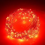 Price Comparisons Of 66Ft 20M 200 Leds Outdoor Christmas Fairy Lights Warm White Silver Wire Led Starry Light String Lights Adapter Red