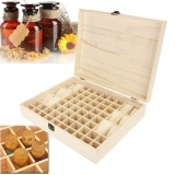 Price 68 Bottle Essential Oil Wooden Storage Box Case Container Aromatherapy Organizer Online China