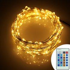 Buy 6M 120Leds Remote Control Fairy Starry Decor String Lights Uk Plug Intl