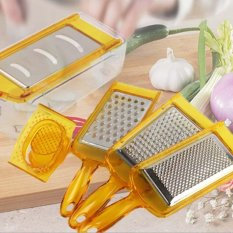 Price 6Pcs Multi Function Vegetable Fruits Graters Stainless Steel Kitchen Tools Slicer Vegetable Cutter Chopper Kitchen Tool Intl Oem New