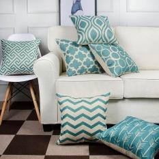 Shop For 6Pc Set Home Decorative Pillowcase Cotton Linen Sofa Cushion Throw Pillow Cover Intl
