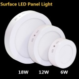 Get Cheap 6W Surface Mounted Led Panel Light Round Led Downlight Ceiling Lamp Kitchen Ligting Lamp Warm White Intl