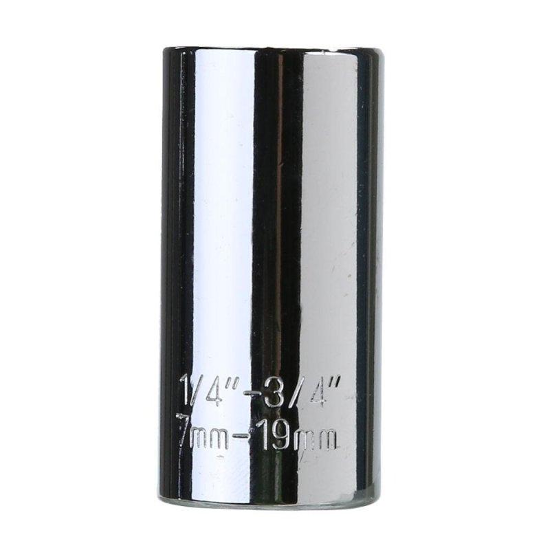 7-19mm Multi Function Ratchet Universal Socket Power Drill Adapter Car Tool - intl